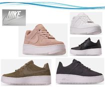 【Nike】 Air Force 1 Sage Low Platform Sneaker