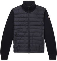 ★関税負担★MONCLER★Panelled Jersey and Quilted Down Jacket