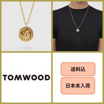 ■送料込■ Tom Wood Coin Pendant Angel Gold 18 inch ゴールド