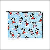 [送・関込]SKINNYDIP×Disney◇DANCING MICKEY 水色 PCケース