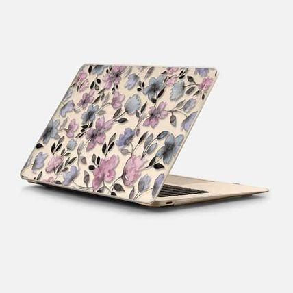 Casetify スマホケース・テックアクセサリー ★Casetify★MacBookケース*Floral watercolor pattern n.1