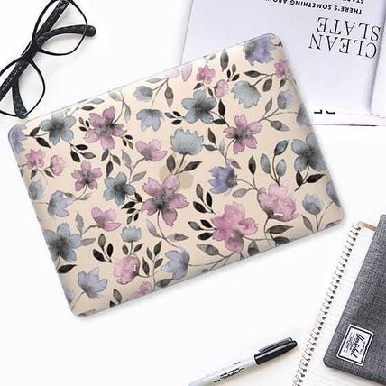 Casetify スマホケース・テックアクセサリー ★Casetify★MacBookケース*Floral watercolor pattern n.1(3)
