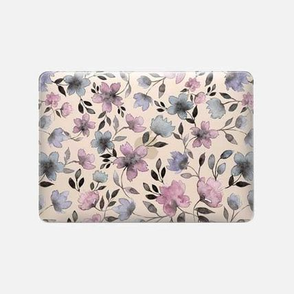 Casetify スマホケース・テックアクセサリー ★Casetify★MacBookケース*Floral watercolor pattern n.1(2)