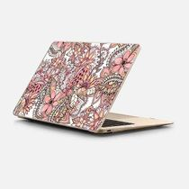 ★Casetify★MacBookケース*Boho chic red brown floral