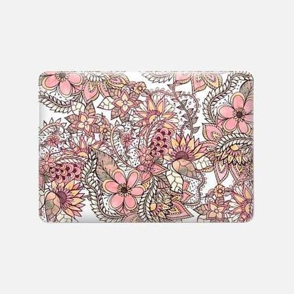 Casetify スマホケース・テックアクセサリー ★Casetify★MacBookケース*Boho chic red brown floral(3)
