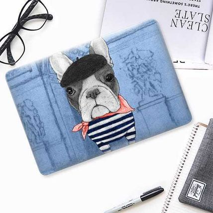 Casetify スマホケース・テックアクセサリー ★Casetify★MacBookケース*Frenchie with Arc de Triomphe(2)