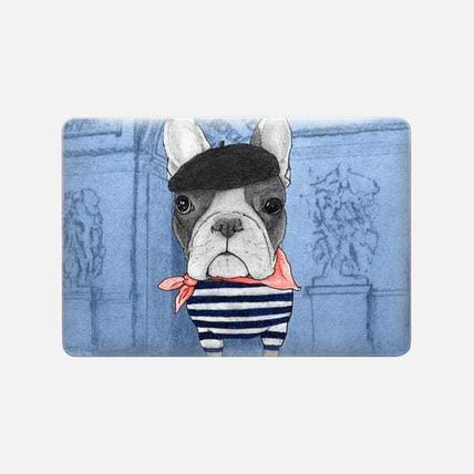 Casetify スマホケース・テックアクセサリー ★Casetify★MacBookケース*Frenchie with Arc de Triomphe(3)