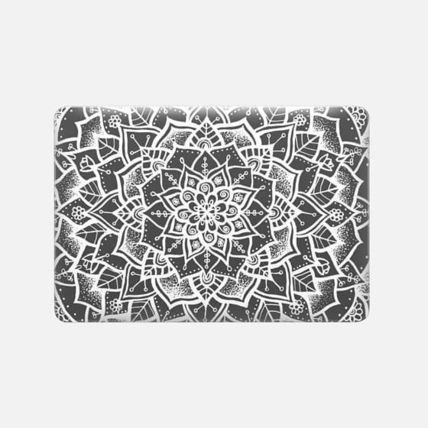 Casetify スマホケース・テックアクセサリー ★Casetify★MacBookケース*White and Grey Mandala(3)