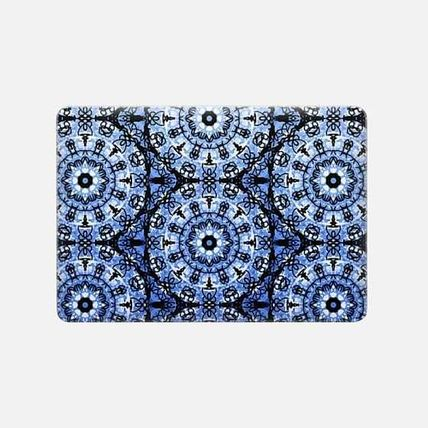 Casetify スマホケース・テックアクセサリー ★Casetify★MacBookケース#Blue Scribble Mandalas(3)