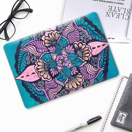 Casetify スマホケース・テックアクセサリー ★Casetify★MacBookケース*Boho fall floral watercolor(2)