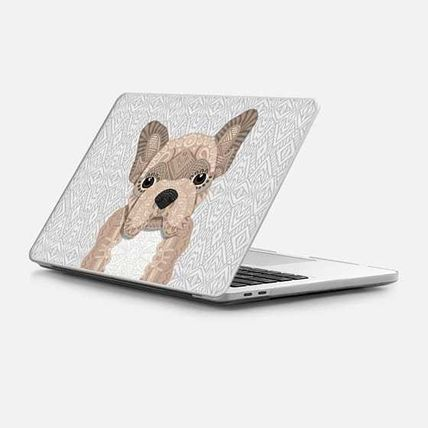 Casetify スマホケース・テックアクセサリー ★Casetify★MacBookケース*Beige Frenchie Puppy 001