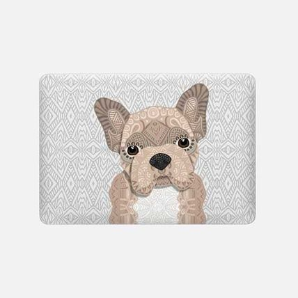 Casetify スマホケース・テックアクセサリー ★Casetify★MacBookケース*Beige Frenchie Puppy 001(3)