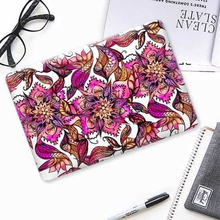 Casetify スマホケース・テックアクセサリー ★Casetify★MacBookケース*Bright watercolor floral mandala(2)