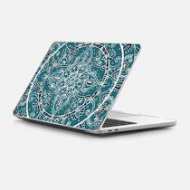 ★Casetify★MacBookケース*Detailed Teal and Blue Mandala