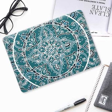 Casetify iPhone・スマホケース ★Casetify★MacBookケース*Detailed Teal and Blue Mandala(2)