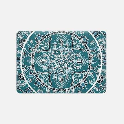 Casetify iPhone・スマホケース ★Casetify★MacBookケース*Detailed Teal and Blue Mandala(3)