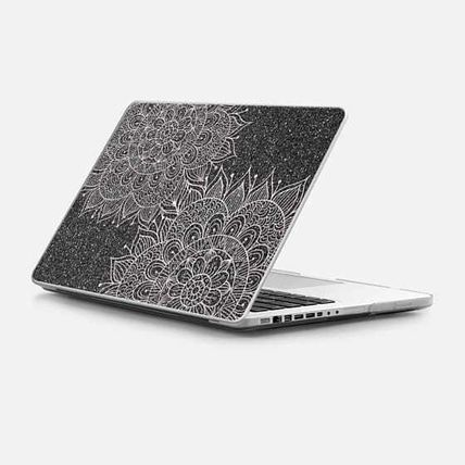 Casetify スマホケース・テックアクセサリー ★Casetify★MacBookケース*Elegant abstract black blush