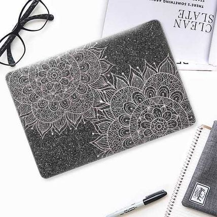 Casetify スマホケース・テックアクセサリー ★Casetify★MacBookケース*Elegant abstract black blush(2)