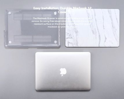 Casetify スマホケース・テックアクセサリー ★Casetify★MacBookケース#Abstraction Outline White on Black(9)