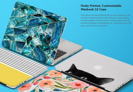 Casetify スマホケース・テックアクセサリー ★Casetify★MacBookケース#Abstraction Outline White on Black(10)