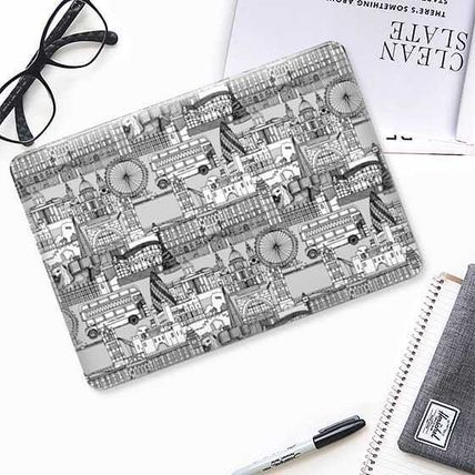 Casetify スマホケース・テックアクセサリー ★Casetify★MacBookケース*London toile black white(2)