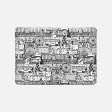Casetify スマホケース・テックアクセサリー ★Casetify★MacBookケース*London toile black white(3)