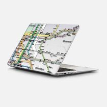 ★Casetify★MacBookケース#NY Tube Map