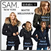 【SAM New York】MATTE MILLENIUM★ファー付ダウンコート