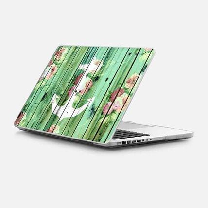 Casetify スマホケース・テックアクセサリー ★Casetify★MacBookケース*Vintage Floral Nautical Anchor