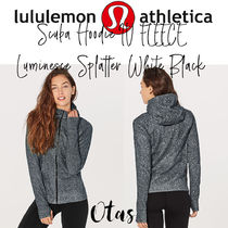 【lululemon】Scuba Hoodie IV Luminesce Splatter White Black