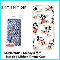 SKINNYDIPxDisney☆ミッキー Dancing Mickey iPhone case