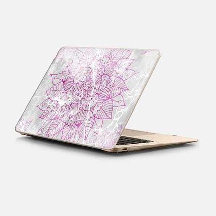 Casetify スマホケース・テックアクセサリー ★Casetify★MacBookケース*Modern abstract pink watercolor