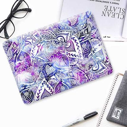 Casetify iPhone・スマホケース ★Casetify★MacBookケース*Purple blue watercolor floral(2)