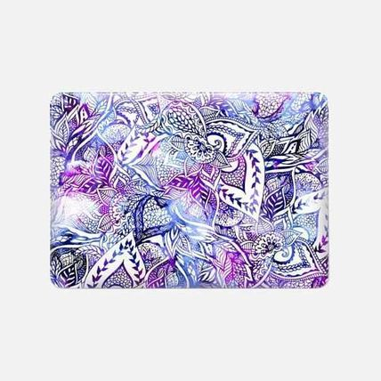 Casetify iPhone・スマホケース ★Casetify★MacBookケース*Purple blue watercolor floral(3)