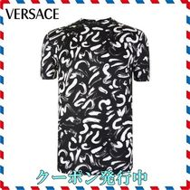 18SS新作◆VERSACE◆デザインプリントTシャツ