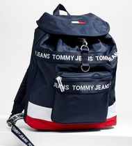 TOMMY JEANS トリカラーナイロンバックパック