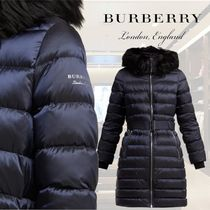 【18AW】★BURBERRY★Limehouse shearling-trim padded coat