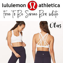 lululemon Free To Be Serene Bra white ホワイト スポーツブラ