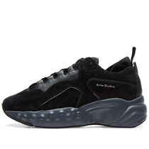 =ACNE STUDIOS=  Black Rockaway Sneakers ダッドスニーカー 黒