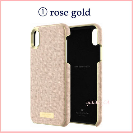 kate spade new york スマホケース・テックアクセサリー 【国内発送】Protective Saffiano Case for iPhone XR セール(3)