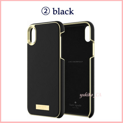 kate spade new york スマホケース・テックアクセサリー 【国内発送】Protective Saffiano Case for iPhone XR セール(5)