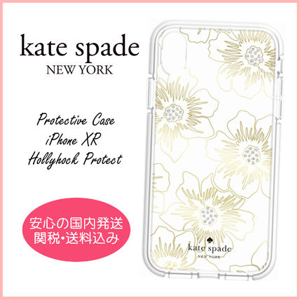kate spade new york スマホケース・テックアクセサリー 【国内発送】Protective Case iPhone XR Hollyhock Protect