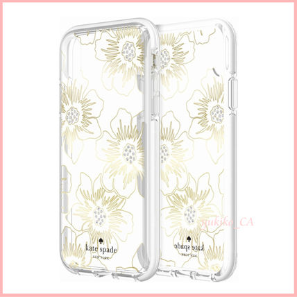 kate spade new york スマホケース・テックアクセサリー 【国内発送】Protective Case iPhone XR Hollyhock Protect(3)