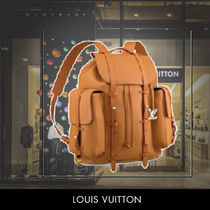 2019SS Louis Vuitton CHRISTOPHER NATURAL LEATHER 関税送料込