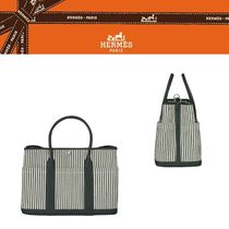 【HERMES直営店】Sac Garden Party  トートバッグ