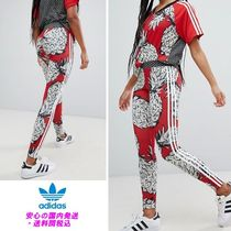 adidas Originals X FarmThreeStripeLeggingsInPineapplePrint♪