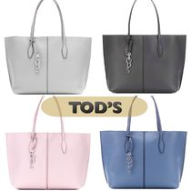 TOD'S(トッズ) トートバッグ 特別 sale★イタリア発★TOD'S(トッズ)  レザー トートバッグ