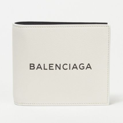 送料込! BALENCIAGA Everyday Square Wallet☆白☆2018新作