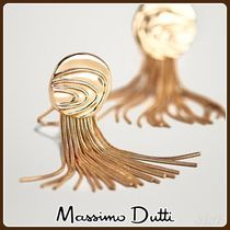 MassimoDutti♪WAVY PIECE AND TASSEL EARRINGS