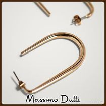 MassimoDutti♪OVAL HOOP EARRINGS